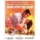 Gone With The Wind Metal Sign