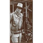 John Wayne - Metal Signature  Metal Sign