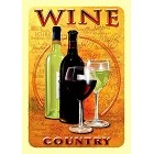 Wine Country Metal Sign