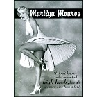 Marilyn - High Heels Metal Sign