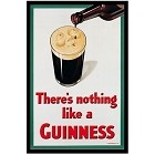 Guinness - Nothing Like Metal Sign