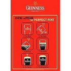 Guinness Red Metal Sign