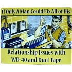 WD-40/Duct Tape Metal Sign