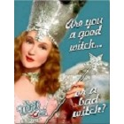 Wiz of Oz Glinda Good Witch Metal Sign