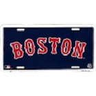 Boston Red Sox License Plate