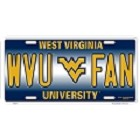 West Virginia Mountaineers License Plate