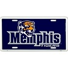Memphis Tigers License Plate