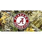 University of Alabama Realtree camo License Plate