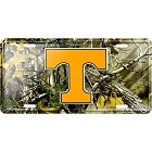 University of Tennessee Realtree camo License Plate