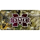 Mississippi State Realtree camo License Plate