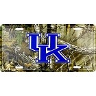 University of Kentucky Realtree camo License Plate