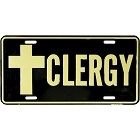 Clergy License Plate