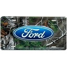 Ford Logo Realtree License Plate