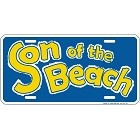 Son of The Beach License Plate