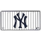 New York Yankees Black Strips License Plate