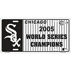 Chicago White Sox 05 Series License Plate