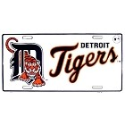 Detroit Tigers Logo License Plate