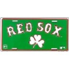 Boston Red Sox Clover License Plate