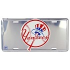 New York Yankee SS License Plate