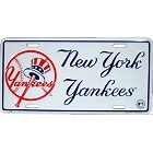 New York Yankees Red Logo License Plate