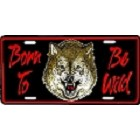 Born To Be Wild License Plate