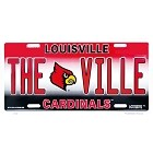 University of Louisville Cardinals License Plate