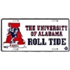 University of Alabama Roll Tide License Plate