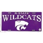 Kansas State - Wildcats License Plate