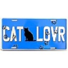 Cat Lover License Plate