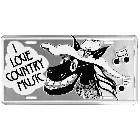 I Love Country Music License Plate