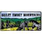 Great Smoky Mt.  License Plate
