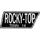 Rocky Top License Plate