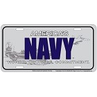 America's Navy License Plate