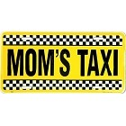 Mom's Taxi License Plate
