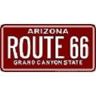 Arizona Old Route 66 License Plate