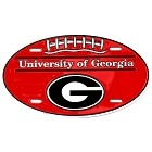 University of Georgia Oval License Plate