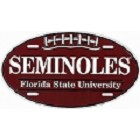 Florida State Oval Seminoles License Plate