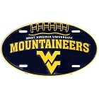 West Virginia Oval Mountaineers License Plate