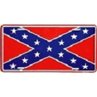 Confederate Flag License Plate