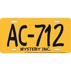 Scooby License Plate
