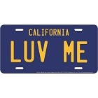 Luv Me License Plate