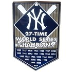 New York Yankees World Champs Banner