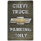 Chevy Parking Only Large Parknig Sign