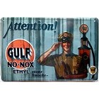 Gulf No-Nox Large Parking Sign