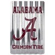 Alabama Crimson Tide Corrugated Large Sign