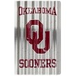 University of Oklahoma Sooners Corrugated Large Sign