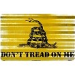Don't Tread On Me Corrugated Large Sign
