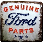 Genuine Ford Parts Large Parknig Sign