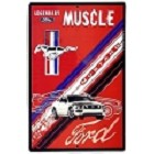 Ford Mustang Muscle Large Parking Sign