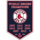 Boston Red Sox 2013 Banner Sign